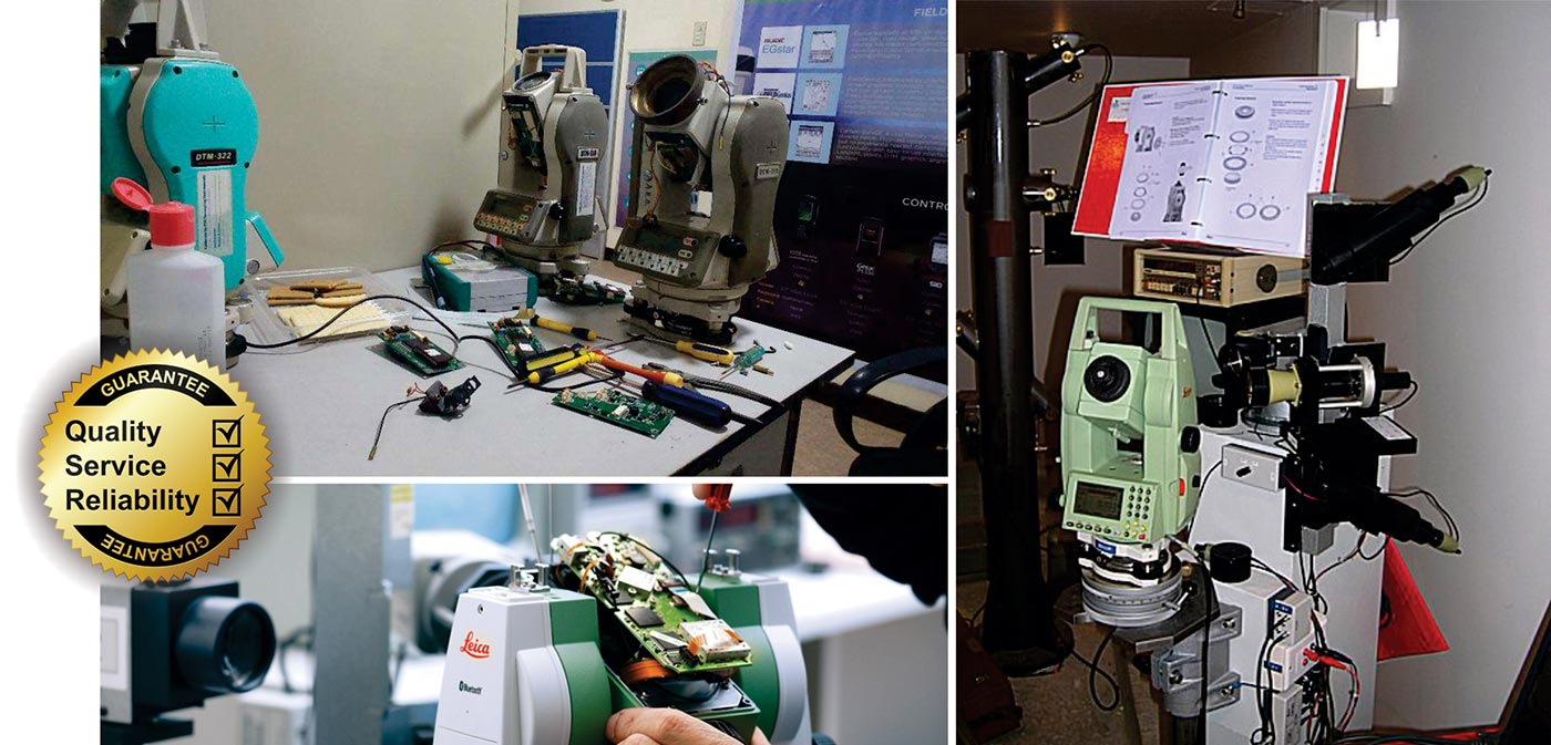 Total Station, Auto Level and Theodolite Repair and Service Calibration for All Brands. 1