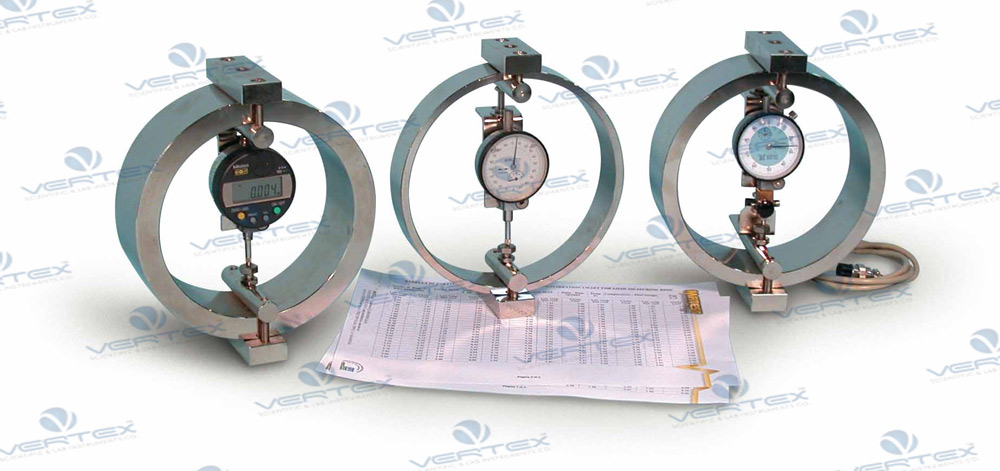 Calibration Of The Proving Ring