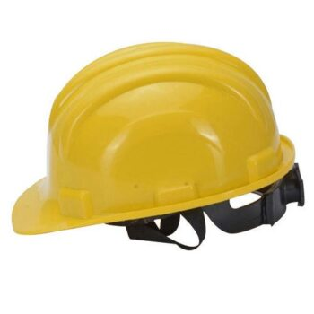 Yellow Safety Helmet-Ratchet Type